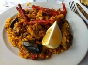 Paella em Formentera: EsCaló